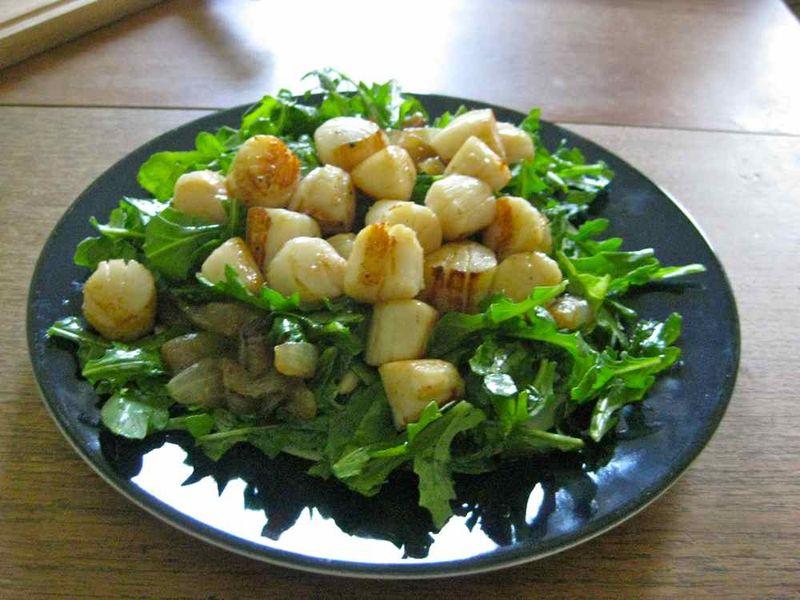 Peconic_Bay_Scallop_salad