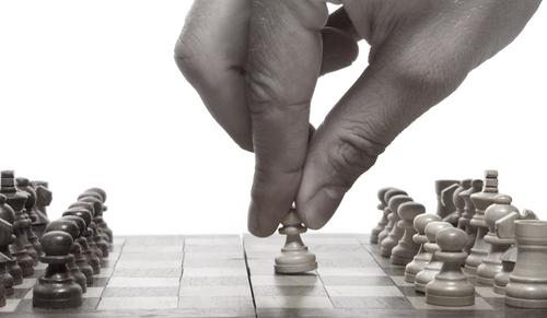 Chess-hand