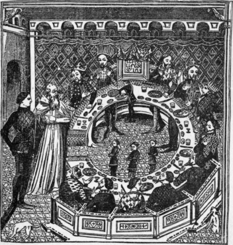 Round-Table-Of-Fourteenth-Century