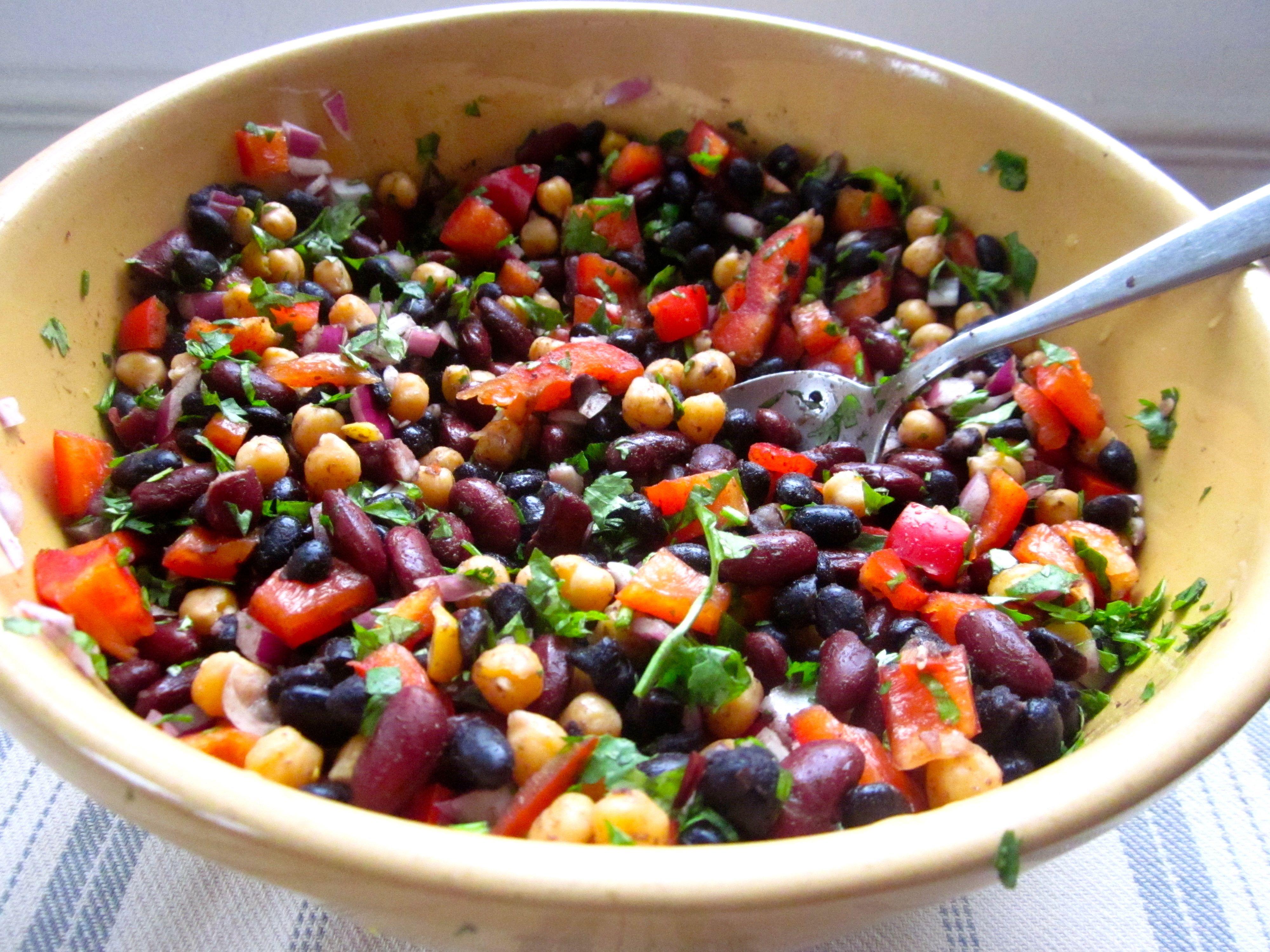 Stay at Stove Dad: Three-Bean Salad Recipe